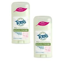 Tom's of Maine Natural Powder Antiperspirant Deodorant For Woman LOT OF TWO (2)!