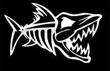 nitro fish skeleton fish bones skull Vinyl Decal Sticker Car Truck Window