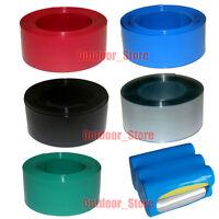 Flat width 103mm Φ65mm PVC Heat Shrink Tubing For 18650 Li-ion Battery