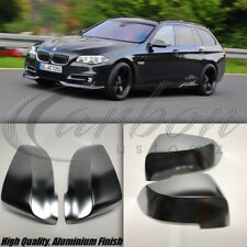 BMW 5 Series F11 Lci Polished Aluminium Mirror Covers 2013 + PAIR M Performance