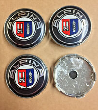 Alpina BMW Alloy Wheel Centre Caps Set Of 4 Badges 60mm By 58mm Universal UK