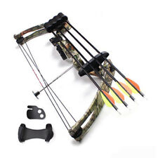 20lbs Right Hand Compound Bow Camo For Archery Hunting Fishing Archery Practice