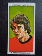 The Sun Soccercards 1978-79 - Rob Rensenbrink - Holland #154