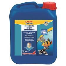 5 Liter sera Aquarien toxivec - Schadstoffentferner z.B. Ammoniak, Nitrit, Chlor
