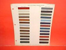 1963 CHEVROLET CORVETTE BUICK RIVIERA OLDSMOBILE PONTIAC INTERIOR PAINT CHIPS