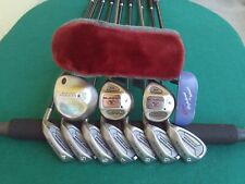 Ladies Callaway Cobra Nicklaus Irons Driver Woods Complete Golf Club Set Womens