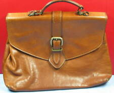 Sac cartable en cuir  The Light  genuine leather  Made in Italy - vintage
