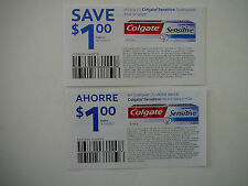 21 Colgate Sensitive Toothpaste $1.00 Coupons-Expires 9/30/2017