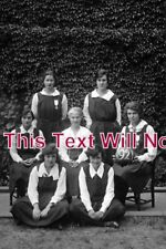 DO 457 - Girls Sports Team, Sherborne School, Dorset 1920s - 6x4 Photo