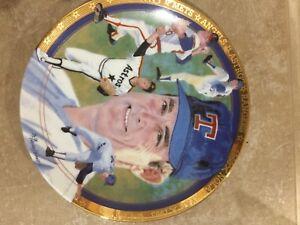 1993 Plate Joe DiMaggio Bradford Exchange No. 1163A w/ COA