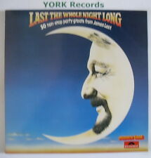 JAMES LAST - Last The Whole Night Long - Ex Con Double LP Record Polydor PTD 001