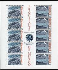 1987 MONACO BLOC N°37 DENTELE EUROPA xx