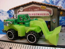 2011 HW CITY WORKS Design Ex WHEEL LOADER ∞Green∞New loose∞Hot Wheels