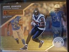 2013 Panini Totally Certified Thanksgiving Day #51 Andre Johnson NM-Mint
