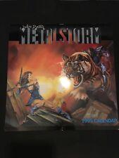 Calendrier - Calendar - Julie Bells - Metalstorm - 1995 - B4