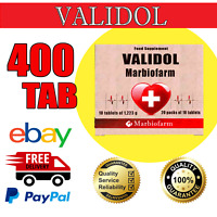 Validol 30MG,400 tabs (40 blistersX10 tabs), ANTI STRESS,CALMING TAB | EXP 06/22