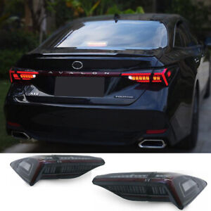 For Toyota Avalon Tail Lights Assembly 2019-2021 Black Color All LED Rear Lamps