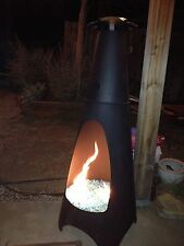 "FR6CK+: Convert a Wood Chiminea to Gas! 6"" COMPLETE DELUXE PROPANE FIRE PIT KIT"