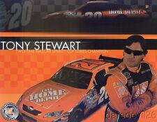 2008 Tony Stewart Home Depot Toyota Camry NASCAR Sprint Cup postcard