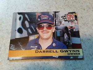 1991 Pro Set Racing Darrell Gwynn Trading Card