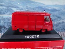 1/43  Norev   Peugeot J7 Fire