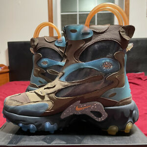 Men's Size 8 Nike React Boots Undercover CJ6971-200 Women's Size 9.5 BRAND NEW!