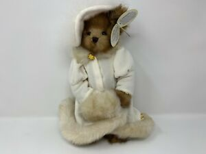 """The Bearington Collection Victoria 14"""" Jointed Bear White Outfit NOS#2"""