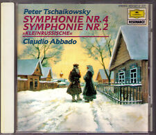 Claudio credesse: Tchaikovsky Symphony No. 2 & 4 Ciaikosky DG CD Little Russian