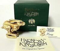 Retired Vintage Harmony Kingdom HARRY Bunny Rabbit Figurine NetsUKe