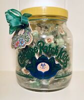 """Vintage 1984 Wheaton CABBAGE PATCH KIDS Candy Container GLASS JAR bubble gum 10"""""""