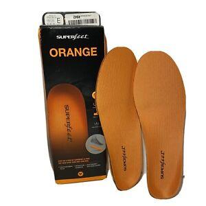 Superfeet Premium Insole Orange. Men's E size 9.5-11. New open box