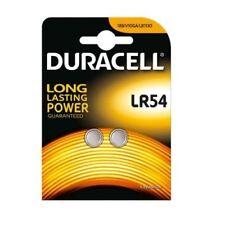 Pila de boton de litio LR 54 pack 2 pilas