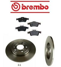 Volvo S40 04-10 L5 2.4L Brembo / Genuine Rear Brake Kit with Rotors and Pads