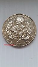 1990*UNC*ALDERNEY CELEBRATION OF QUEEN'S MOTHER 90TH BIRTHDAY £2 TWO POUND COIN