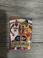 2019-20 Panini Illusions Dwight Howard Career Lineage Magic Lakers 73/125
