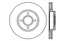 StopTech Sport Drilled/Slotted Disc fits 1999-2002 Mercury Cougar  STOPTECH
