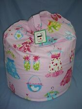 """Large Beanbag~ """"Gladrags Pink ~ Filled And With Inner Liner ~ FREE P&P (A3)"""