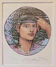 Ernst Fuchs (1930-2015) colorierte original litografía: olímpicodesarrolla # 103/250