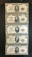 1929 Minneapolis Frbn Lot : Full Collection : $100 / $50 / $20 / $10 / $5 [$]