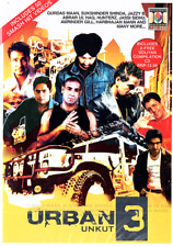 URBAN UNKUT 3 MOVIEBOX BHANGRA SONG DVD + BOLIYAN COMPILATION CD INCLUDED.