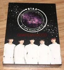 B1A4 LIVE SPACE 2017 K-POP 2 DISC DVD + PHOTOBOOK + FOLDED POSTER NEW