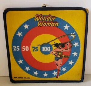 Vintage 1978 Wonder Woman Toy Dart Board - DC Comics 1978