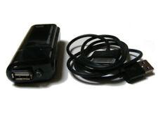 Cargadores, bases y docks negro cargador portátil para teléfonos móviles y PDAs
