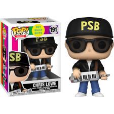 """PET SHOP BOYS CHRIS LOWE 3.75"""" POP ROCKS VINYL FIGURE FUNKO 191 IN STOCK"""