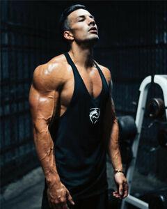 Tank Top Men Gym Tank Top Alphalete Vq Fitness Activewear Debardeur gym shark
