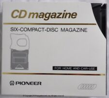 New listing Pioneer Pioneer Six Compact Disc Magazine Cartridge For Home & Car Use Jz845