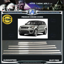 FITS TO  RANGE ROVER SPORT CHROME WINDOW TRIM COVERS 5y GUARANTEE 13-16 OFFER