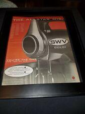 SWV You're The One Rare Original Radio Promo Poster Ad Framed!