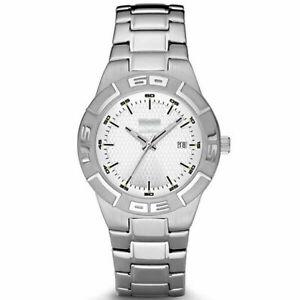 HSV Armbanduhr Herren silber weiß Uhr Chronograph Analoge Anzeige HSV Fanartikel