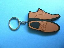 Harrison Blake Brown Oxford Dress Shoes Key Chains Men's Accessories